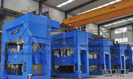 3000吨框架式液压机压制防盗men高效快捷