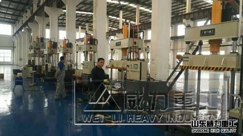 YW32-100T四zhu乐橙app下载液压ji_碳纤维复合材料模压ji