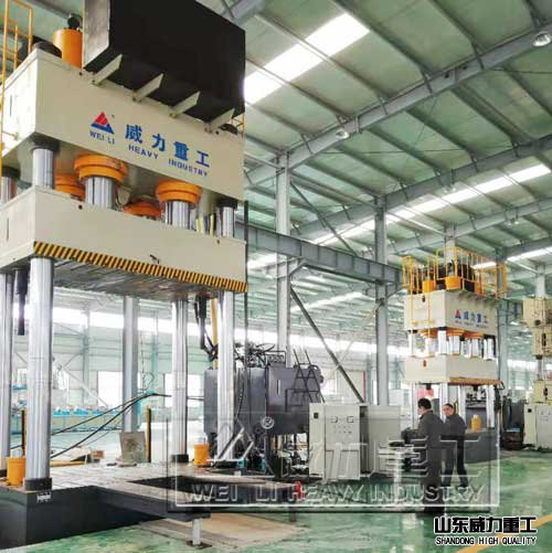 3000吨fu合材料qi车零部件模压液压机