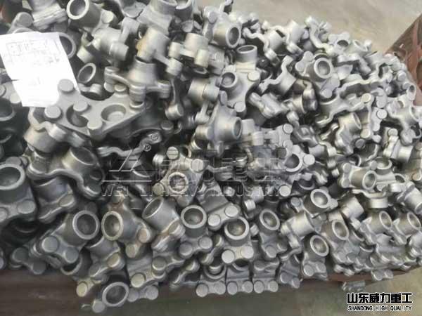 框架shiye压机锻zao成型的工件