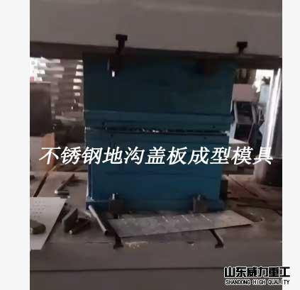 不锈钢地漏盖板成型模具