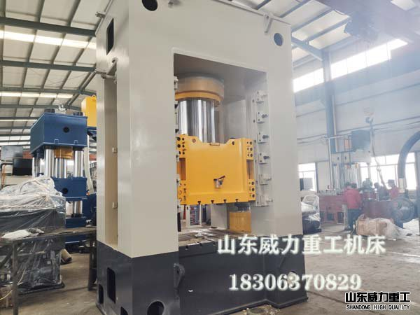800吨框架式汽车配件冲压液压机