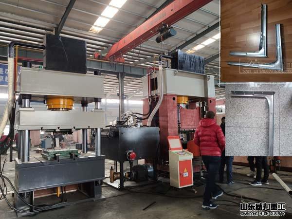 空调外机支架压型she备_315吨框架式液压机